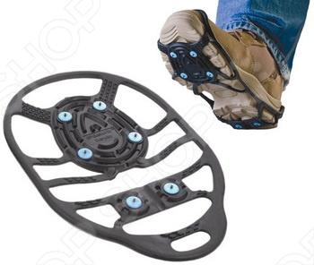 Ледоходы Due North Everyday - насадка с шипами на обувь для уверенного движения по льду. Повышенный срок службы, превосходное сцепление с поверхностью, легкозаменяемость - все это о ледоходов Due North Everyday. В комплекте 2 запасных шипа. Подберите размер для себя: Размер L XL соответствует размерам 41-49; Размер S M соответствует размерам 36-41.