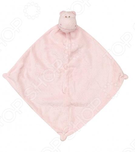 Angel Dear, создает классическую одежду для новорожденных и детей младшего возраста от 0 до 4 лет . При создании учитываются самые современные тенденции в мире моды, и особое внимание уделяется деталям. Каждая коллекция имеет свой неповторимый стиль, который дополняется различными милыми аксессуарами, чтобы сохранить ощущения столь сладостного периода детства. Комфорт ребенка - основополагающий принцип в создании коллекций каждого сезона. Линии одежды Angel Dear вы можете увидеть в лучших бутиках и магазинах по всей территории США. Покрывальце-игрушка Angel Dear Бегемот. Очаровательная покрывальце-игрушка Бегемот из супер мягкого кашемирового полиэстера декорированная мордочкой животного. Чудесная развивающая игрушка для самых маленьких. Состав: 100 кашемировый полиэстер. Размер: 33х33 см.