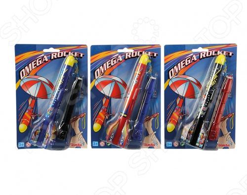 Товар продается в ассортименте. Цвет изделия зависит от наличия товарного ассортимента на складе. Ракета Simba 7207709 замечательный подарок для вашего ребенка. Ракетка-рогатка при приземление выпускает парашют. Игрушка изготовлена из высококачественной пластмассы, поэтому полностью безопасна для детей. Ракета Simba 7207709 станет любимой игрушкой вашего ребенка.