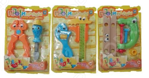 Набор инструментов слесарных 1 Toy «Малыш-Профи». В ассортименте Набор инструментов слесарных 1 Toy «Малыш-Профи» /