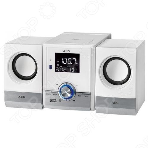 AEG MC 4461 BT представляет собой современную акустическую микросистему домашнего кинотеатра. Модель разработана для воспроизведения музыки с различных носителей, прослушивания радио. Кроме традиционного проигрывания компакт дисков, модель оборудована слотом USB и модулем Bluetooth. Связь с устройствами поддерживающими беспроводное соединение осуществляется в радиусе до 15 метров. Чистый тембр и глубокий бас удовлетворят не только простого пользователя, но и искушенного музыкального гурмана. Благодаря стильному и модному дизайну, микросистема AEG MC 4461 BT впишется в любой современный интерьер.
