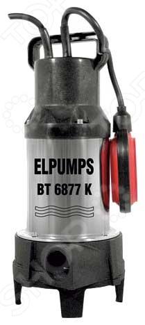 Насос погружной измельчающий дренажный для сточных и фекальных вод Elpumps BT6877K