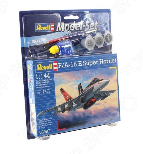 Сборная модель самолета Revell F/A-18E «Super Hornet» revell сборная модель revell истребитель макдоннел дуглас f a 18c hornet
