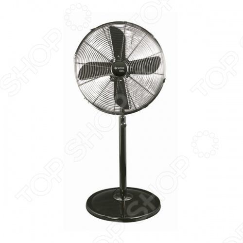 Вентилятор Vitek VT-1921Вентиляторы<br>Вентилятор Vitek 1921 мощностью 50 Вт спасет вас летом от жары. Вентилятор прост и удобен в использовании, имеет три режима работы, регулируется по высоте и углу наклона. Поэтому направить поток воздуха на свое рабочее место сможет каждый пользователь. Корпус изготовлен из нержавеющей стали, что увеличивает вес вентилятора, но при этом снижает возможность поломки.<br>