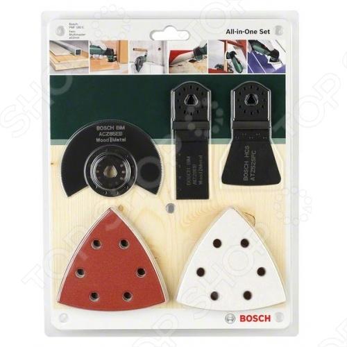 Набор для многофункционального инструмента Bosch PMF Universal bosch bosch acz 85 eb лопасть вентилятора 2608661636