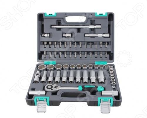 Набор инструментов Stels из 60 предметов в кейсе набор инструментов stels из 57 предметов в кейсе