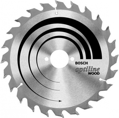 Диск отрезной для ручных циркулярных пил Bosch Optiline Wood 2608640617 диск отрезной для торцовочных пил bosch optiline wood 2608640432
