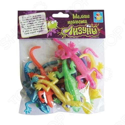 Игрушка-лизун 1 Toy Т52285 Ящерица