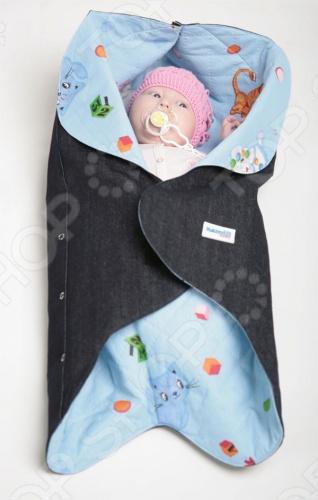 Конверт детский Ramili Baby Style Конверт детский Ramili Style /Голубой