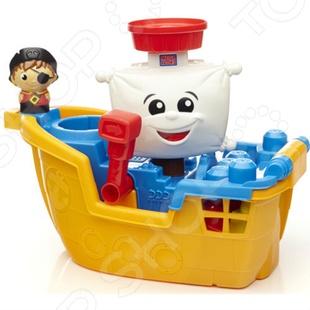 Конструктор для ванной Mega Bloks «Пиратский корабль»
