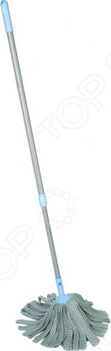 Моп для уборки с телескопической ручкой Hausmann ADF1305