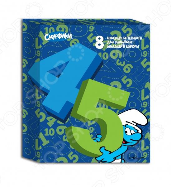 Комплект тетрадей Смурфики 22366 с изображениями обаятельных героев мультфильма будут мотивировать к более аккуратному ведению тетради и настраивать на желание иметь в ней только хорошие оценки. Комплект состоит из 8 школьных тетрадей формата А5. Обложки выполнены из импортного мелованного картона, покрытого глянцевым лаком, а углы листов и обложки имеют закругленную форму, чтобы не уколоть девочку. В наборе вы найдете тетради в клетку и линейку.