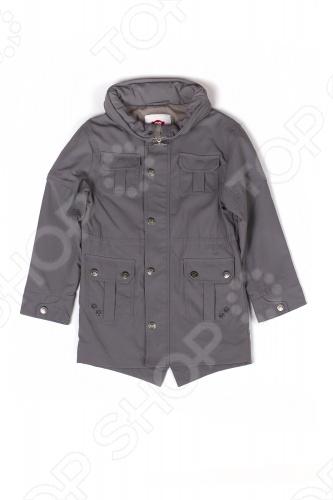Куртка для мальчика Куртка детская для мальчика Appaman Wiley Raincoat. Цвет: серый