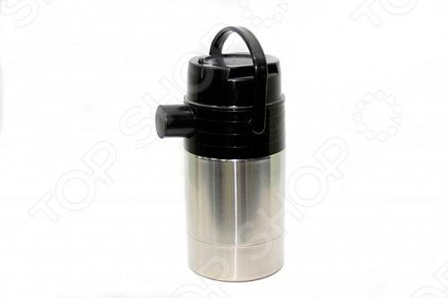 Термос с пневмонасосом АМЕТ Гейзер 1c732Термосы и термокружки<br>Термос с пневмонасосом АМЕТ Гейзер 1c732 легкий и надежный термос, используется для хранения напитков при постоянной температуре. Колба и корпус термоса изготовлены из нержавеющей стали.<br>