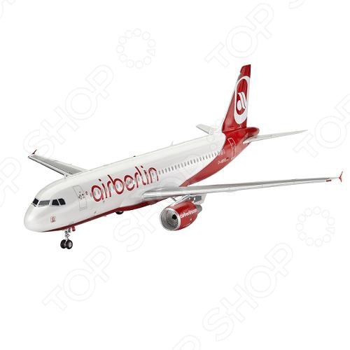 Сборная модель пассажирского самолета Revell Airbus A320 AirBerlin 1pcs ap003 gx12 2 3 4 5 6 7 pin 12mm male & female butt joint connector aviation plug gx12 circular socket plug page 9