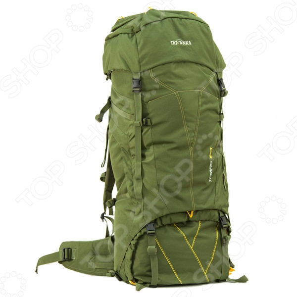 Рюкзак туристический Tatonka Tamas 100Туристические рюкзаки и аксессуары<br>Рюкзак Tatonka Tamas 100 станет незаменимым спутником для настоящего любителя приключений, активного отдыха и путешествий. В любой дороге, в любом походе крайне необходимо иметь возможность упаковать, как можно большее количество нужных и полезных вещей и снаряжение. Прочный материал, из которого изготовлен рюкзак, не выгорает на солнце, выдерживают приличные нагрузки, а продуманный крой и конструкция, позволяют рационально использовать весь имеющийся полезный объем. Удобные лямки дает возможность равномерно распределить нагрузку не только на плечи, но и по всей поверхности спины, а так же пояснице. Они обеспечат вам непревзойденный комфорт и легкость передвижения на любой местности и в любой остановке. Все вышеперечисленные характеристики рюкзака обеспечат вам комфорт, уверенность и радость от каждого нового приключения.<br>