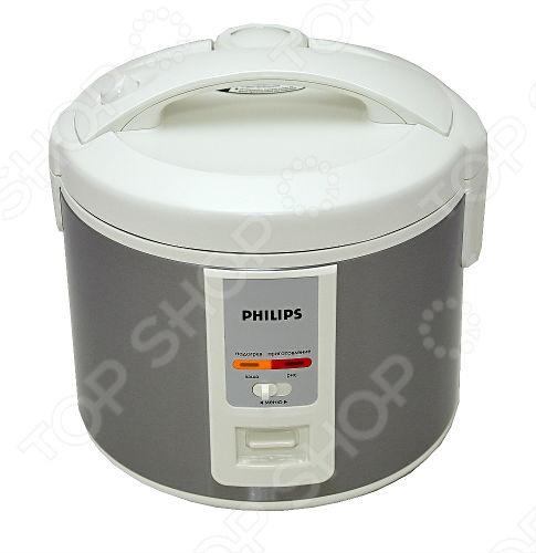 Мультиварка Philips HD3027 03 станет идеальным помощником для хозяйки на любой кухне. Модель обладает доступным и простым управлением и эстетичным дизайном.  Данная модель обладает системой распределения тепла по технологии 3D, что обеспечивает равномерный нагрев и эффективное поддержание температуры, что особенно важно при выпекании. Автоматический подогрев не позволит вашему блюду остыть и сохранит свежесть блюд в течении 12 часов. Внутренняя чаша с антипригарным напылением состоит из 5 слоев общей толщиной 1,5 мм, что позволяет равномерно распределять тепло, чтобы ваши блюда получились еще вкуснее. Чашу можно мыть в посудомоечной машине.  Мультиварка Philips HD3027 03 невероятно удобна в эксплуатации: легкоочищаемая съемная внутренняя крышка, для удобства ухода за мультиваркой. Четкая маркировка уровня воды показывает объем и соотношение количества ингредиентов и воды. Одним нажатием кнопки можно начать приготовление блюда или включить функцию подогрева, а понятный световой индикатор на панели сообщает о статусе приготовления.