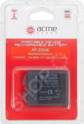Аккумулятор для телефона AcmePower AP-S004E аккумулятор для фотоаппарата acmepower ap nb 8l