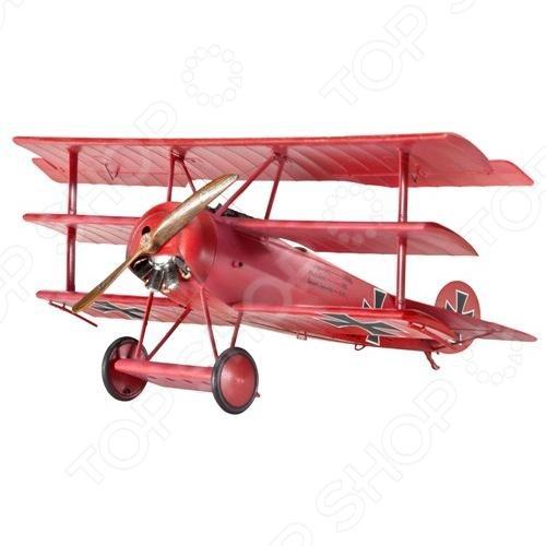 Сборная модель самолета Revell Fokker Dr. I сборная модель revell самолет fairey gannet t 5