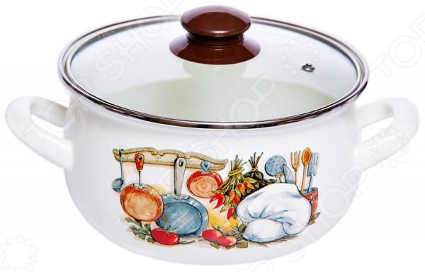 цена на Кастрюля со стеклянной крышкой Interos «Кухня»