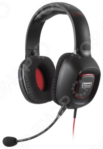 фото Гарнитура Creative Sound Blaster Tactic 3D Fury, Гарнитуры компьютерные