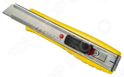 Нож строительный STANLEY FatMax с лезвием с отламывающимися сегментами нож строительный stanley fatmax® xl™ 0 10 820