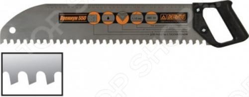 Ножовка по дереву РОС Дельта. Премиум (закругленное полотно, универсальная)