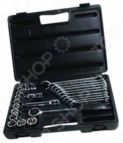 Набор с торцевыми головками STANLEY 1-89-105 набор торцевых головок stanley и комбинированных ключей 40 предметов 1 99 056