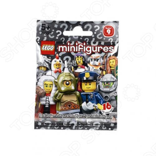 Товар продается в ассортименте. Вид изделия при комплектации заказа зависит от наличия ассортимента товара на складе. Конструктор LEGO Mini Figures серия 9 - это удивительная серия минифигурок, где каждая минифигурка выпускается в запечатанной таинственной упаковке со своими собственными особенными аксессуарами, подставкой и брошюрой для коллекционера. В коллекцию входят: Инопланетный мститель, Лесная дева, Сантехник, Русалка, Боевой робот, Девочка на роликах, Официант, Гадалка, Судья, Мальчик в костюме цыпленка, Полицейский, Римский император, Мистер Добрый-и-Злой, Героический рыцарь, Восходящая звезда Голливуда и Циклоп. Вам может выпасть любая из минифигурок.