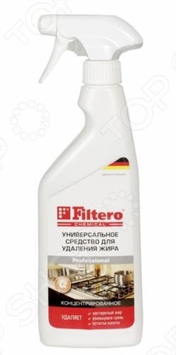 Чистящее средство для удаления жира Filtero 501 - это концентрированный раствор для удаления жира. Уникальное сочетание компонентов позволяет очистить как поверхностные загрязнения, так и въевшиеся пятна. Активные компоненты глубоко проникают внутрь загрязнения, что позволяет легко и бережно удалить их с поверхности. Приятный аромат облегчит уборку. Эффективно на всех видах поверхностей: плита, кафель, раковина, СВЧ, духовка, металлические фильтры в посудомоечных машинах и кухонная мебель.