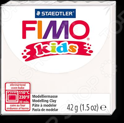 Глина полимерная для детей Fimo 8030 idigo полимерная глина для запекания 58гр цв зеленый неон sm55811