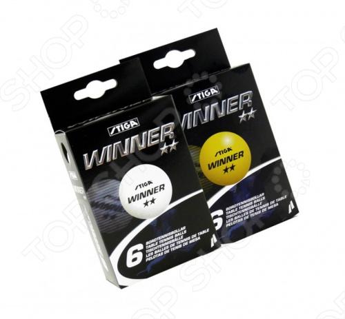 Мячи для настольного тенниса Stiga Winner