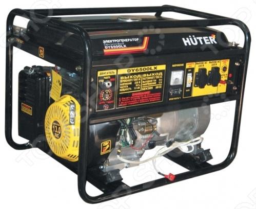 Электрогенератор Huter DY6500LXA газонокосилка huter glm 5 0 s