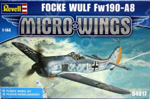 Сборная модель истребителя Revell Focke Wulf FW 190 A-8 «Сорокопут»
