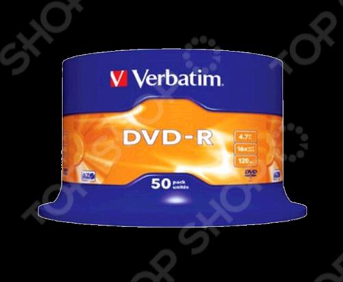 Набор дисков Verbatim 43548 dvd r набор дисков verbatim 43548 x50