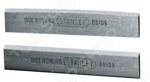 Ножи для рубанка STANLEY 0-12-379 с дополнительным углом заточки для ламината. Ножи специально созданы для торцевых рубанков.