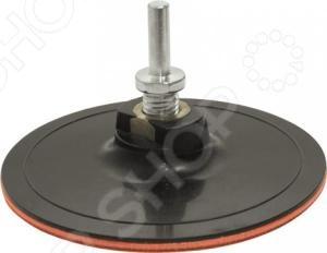 Диск шлифовальный для дрели FIT 39626  диск шлифовальный с липучкой р40 d 125 мм 5 шт перфорированный bosch профи