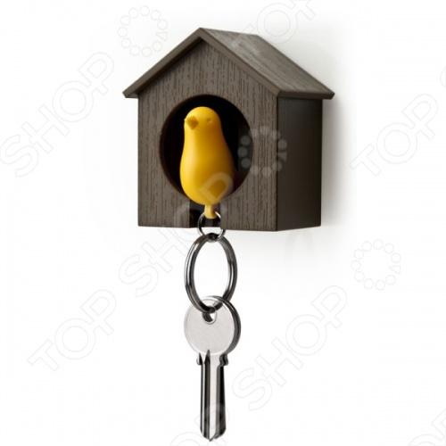 фото Держатель и брелок для ключей Qualy Sparrow, Ключницы