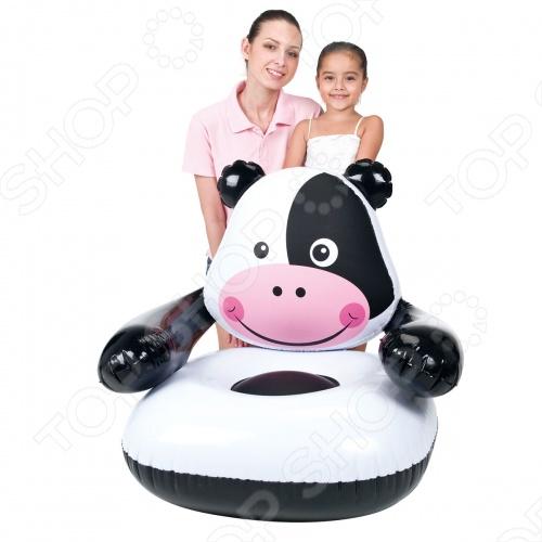 Кресло надувное детское Bestway Коровка 75025B