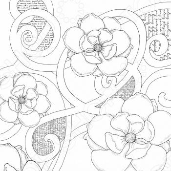 фото Бумага для раскрашивания Prima Marketing Magnolia 5, купить, цена