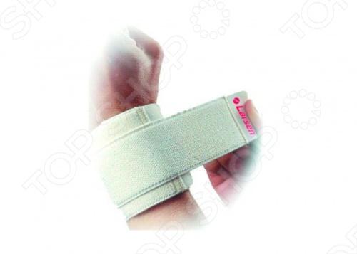 Суппортер Larsen 6106 фиксируется на запястье при помощи липучки. Его рекомендуется использовать для спортсменов, запястья которых подвержены частым травмам или риску травм.