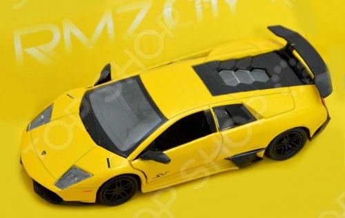 Модель автомобиля RMZ City Lamborghini Murcielago LP670-4 модель автомобиля lamborghini murcielago lp670 4 масштаб 1 43 39500