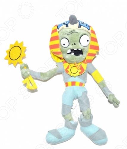 Мягкая игрушка Plants vs Zombies «Зомби-фараон» брелок от сигнализации фараон в минске