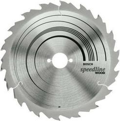 Диск отрезной для ручных циркулярных пил Bosch Speedline Wood 2608640786 диск отрезной для торцовочных пил bosch optiline wood 2608640432