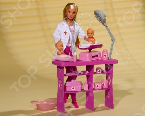 Кукла Штеффи с аксессуарами Simba «Детский доктор» simba набор штеффи детский доктор steffi love