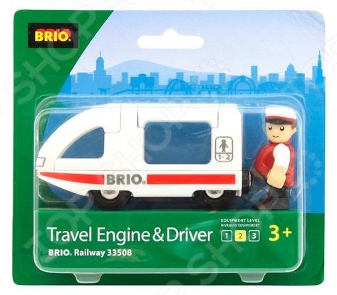 Поезд-купе с машинистом Brio 33508