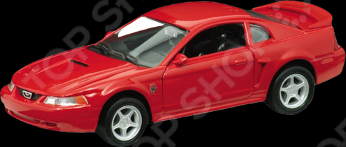 Модель машины 1:33 Welly 1999 Ford Mustang GT. В ассортименте