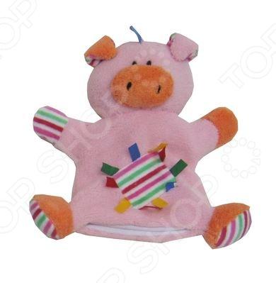 Игрушка мягкая на руку Coool Toys «Хрюша» игрушки для ванны tolo toys набор ведерок квадратные