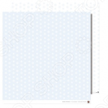 фото Бумага для скрапбукинга Rayher «Снежинки», купить, цена