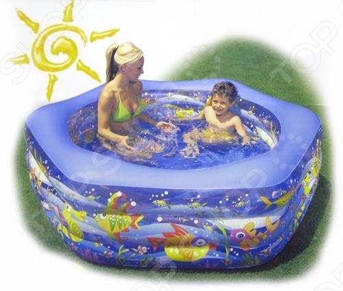 Бассейн надувной Intex 56493 надувной бассейн intex бассейн аквариум 152 56см